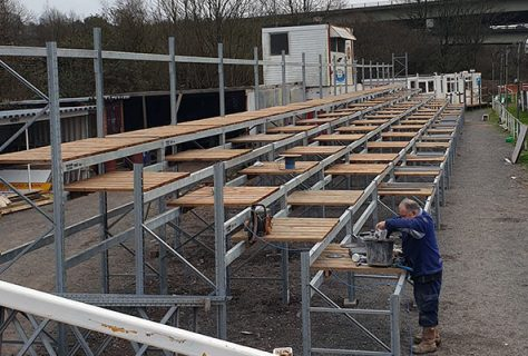 Plymouth-Gladiators-Speedway-homestraight-stand-taking-shape
