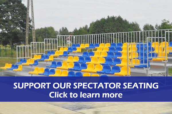 Support Plymouth Gladiators Seating