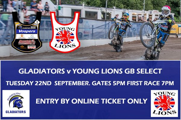 Gladiators V Team GB Young Lions