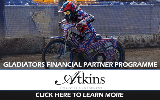 Atkins Financial Management_Plymouth Gladiators Speedway Partnership Programme